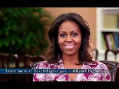 The First Lady Calls on Higher Ed Communities to Introduce High School S...