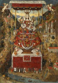 Spanish Colonial Art | Our Lady of Cocharchas
