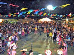 Festa junina em Brasil ( celebrations happen during the month of June...lots of country food, corn based foods and desserts)