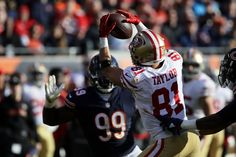 6acb360e8b6 Trent Taylor had career day playing through flu Chicago Nfl