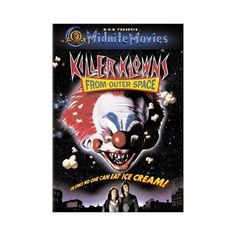 Killer Klowns From Outer Space (DVD, 2001, Checkpoint; Lenticular;...