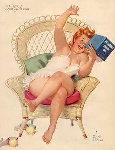 Hilda enjoys a good book