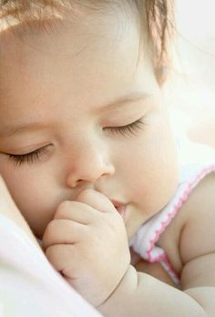 Is there anything sweeter than a pic of a child in a natural sleep?