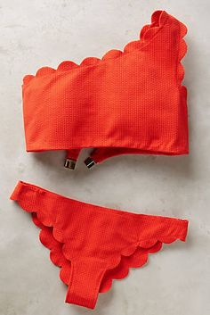 Discover new bikinis and two-piece swimwear at Anthropologie. Shop bikinis from brands like L Space, Mara Hoffman and more. Summer Suits, Summer Wear, Spring Summer Fashion, Summer Outfit, Bikini Rot, The Bikini, Bikini Ready, Bikinis, Cute Swimsuits