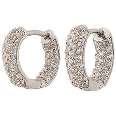 Petite Pave Hoop Huggies | Hope Faith Miracles by Kristian Alfonso