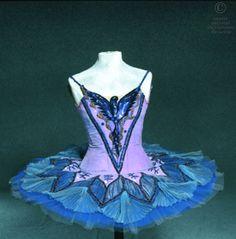 blue ballet tutu