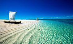 Zanzibar / Tanzania. I must experience these colors in person.