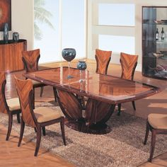 Modern Dining Set This elegant and luxurious dining set includes a table, 6 side chairs. Marble Top Dining Table, Steel Dining Table, Metal Dining Chairs, Square Dining Tables, Glass Dining Table, Modern Dining Table, Dining Table In Kitchen, A Table, Side Chairs