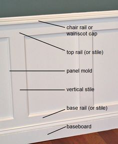 Dining Room Plan with Chair Rail. 20 Dining Room Plan with Chair Rail. Entry Way with Chair Rail and White and Gray Paint Vintage Picture Frame Wainscoting, Wainscoting Panels, Panel Moulding, Wainscoting Ideas, Black Wainscoting, Painted Wainscoting, Crown Moldings, Wainscoting Height, Diy Wainscotting