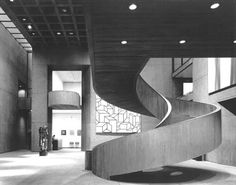 hapsical: staircase at the Everson Museum of Art, Syracuse New York | I.M. Pei