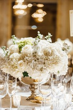 photo: Ann-Kathrin - wedding centerpiece idea