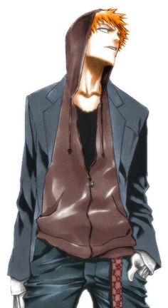 Just wanna say Hi! and thanks for following me! So here's a cool pic of Ichigo. :) Bleach