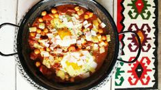 Home made shakshuka