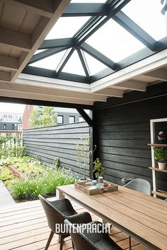 Pergola Attached To House Roof Outdoor Rooms, Outdoor Gardens, Outdoor Living, Backyard Patio, Backyard Landscaping, Pergola Garden, Patio Design, House Design, Garden Office