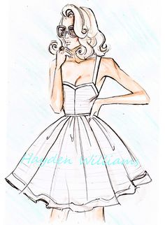 'Her Favourite Sundress' by Hayden Williams by Fashion_Luva, via Flickr