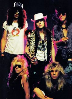 Guns N' Roses...original line up was the best