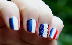 Nail Art n°3 : Flags par Emilie Nail Art Harry Potter, Flag Nails, Art Français, France Flag, Nail Art Designs, Gel Nails, Beauty, Caramel, Images