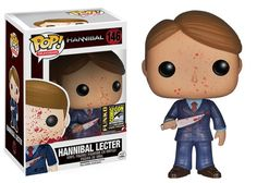 The San Diego Comic Con is almost upon us. This weekend at the show, Funko will giveaway a custom Hannibal Pop figure signed by the show's creator Bryan Fu
