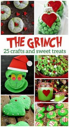 25 Grinch Crafts and Sweet Treats for Christmas