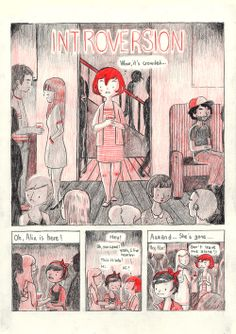 heyluchie: Introversion This is relevant to me. (clickthrough for full comic)