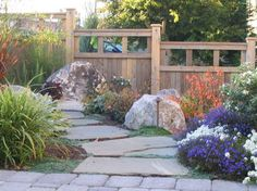 Landscape +front +yard +slope +landscaping Design Ideas, Pictures, Remodel and Decor
