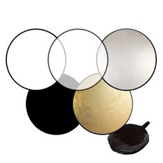 5-in-1 Light Mulit Collapsible disc for photography Panel Reflector diffuser NI