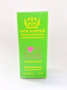 The Perfect Springtime Perfume! Tata Harper Love Potion (0.16 fl. oz/5 ml) • chidibeauty.com | Looking for a natural fragrance? A toxin-free perfume? Click through to read about Tata Harper's Love Potion and its pretty floral scent.