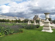 The garden of Palais Royal in Paris by Poo Geok #travel #europe #france
