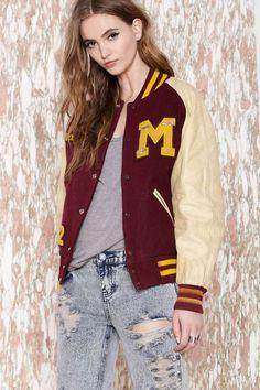 Vintage Vanessa Varsity Jacket