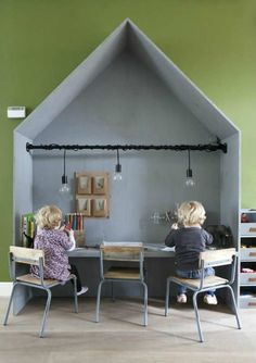 Scandinavian play area | 10 Fun & Friendly Kids Playrooms Part 3 - Tinyme Blog