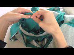 Como costurar a manga à cava do blazer - YouTube