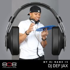 Click to find out your DJ Name and share to enter to win a set of 808 Audio Performer headphones! http://go2w.in/808