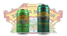Sierra Nevada's iconic Pale Ale and uber-hoppy Torpedo now available in cans.