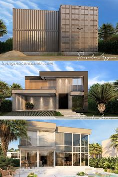 Storage Container Homes, Building A Container Home, Container Buildings, Container Architecture, Architecture Design, Sustainable Architecture, Shipping Container Home Designs, Container House Design, Tiny House Design