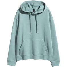 Hooded top ($22) ❤ liked on Polyvore featuring tops, hoodies, hooded top, blue top, blue hoodies, ribbed top and slit tops