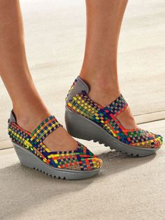 749bf7158d8 Bernie Mev Lulia - Stretchy women s shoes - Casual high heels