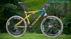 Yeti Arc AS- Lt retro full-suspension mountain  bike