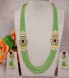 Whats app me for order On 8059209804 afh Fancy Jewellery, Gold Jewellery Design, Bead Jewellery, Beaded Jewelry Designs, Jewelry Patterns, Coral Jewelry, Bridal Jewelry, Viria, Bridal Jewellery Inspiration