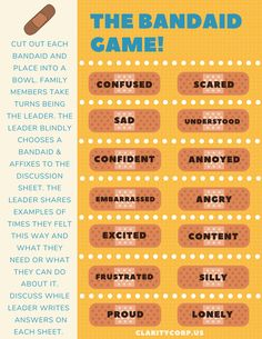 The Bandaid Game - Clarity Corp Slumber Party Games, Carnival Birthday Parties, Birthday Party Games, Slumber Parties, Girl Birthday, Monster High Birthday, Ninja Turtle Birthday, Ninja Turtle Party, Grief Counseling