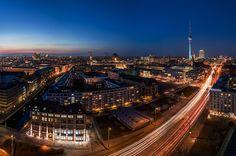 Berlin - Skyline Panorama 2015