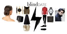"""""""Blind date"""" by jenny-on-fleek ❤ liked on Polyvore featuring мода, MaxMara, Polo Ralph Lauren, MSGM, Michael Antonio, Alessandro Dell'Acqua, Swatch, Style & Co., Yves Saint Laurent и women's clothing"""