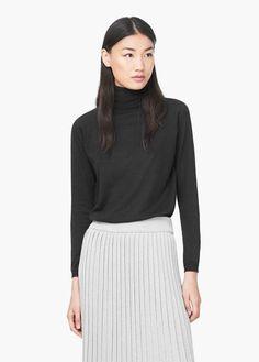 Essential cotton-blend sweater | MANGO