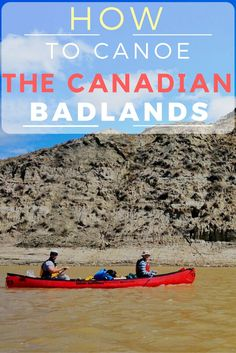 Canoe the Canadian Badlands - an ecotourism adventure in Canada that is accessible and fun for all ages! New Travel, Canada Travel, Travel Goals, Canoe Canada, Travel Pics, Travel Packing, Canada Destinations, Beautiful Sites, Beautiful Places