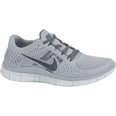 Nike Free Run+ 3 Women's Running Shoes - Wolf Grey,