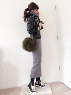 ファッション ファッション in 2020 Fashion Mode, Daily Fashion, Love Fashion, Girl Fashion, Womens Fashion, Winter Fashion Outfits, Chic Outfits, Autumn Winter Fashion, Fall Outfits