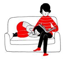 Addormentarsi come bambini nel suo abbraccio * Queste Simpatiche Vignette Vi Mostrano Che Il Vero Amore Si Vede Dalle Piccole Cose