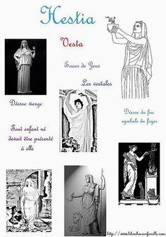 Le bonheur en famille: La Grèce avec deux déesses, Héra et Hestia...