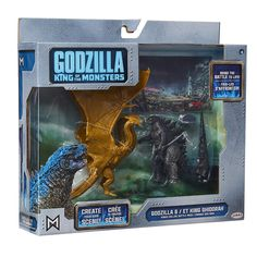 Jakks Pacific Godzilla King of The Monsters Et Ghidorah Mothra Radan NEW Godzilla Figures, Godzilla Toys, Godzilla Costume, Godzilla Comics, Godzilla Birthday Party, 5th Birthday, Happy Birthday, Vinyl Figures, Action Figures