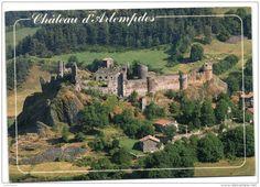Frankreich - Château d'Arlempdes