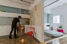 Nook architects. Barcelona apartment.